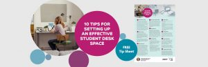 Organising Students - image on setting up an effective desk space
