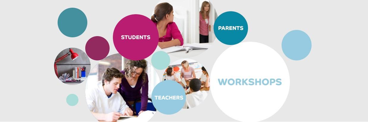 images highlighting student workshops