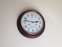 Analogue Clock helps with time management