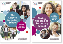 ebooks - taking the leap secondary school image covers
