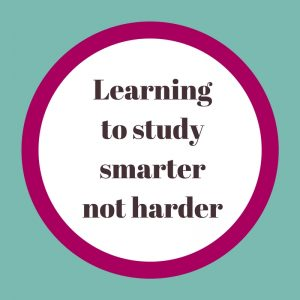 quote learning to study smarter not harder - and how it is about adopting Passive v active study strategies for students