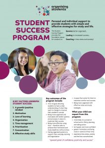 Individual Student Support 1:1 - Student Success Program flyer image