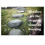 stepping stones - why making mistakes is important for students