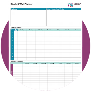 image of student planner