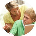 Image of parent nagging - Parents - be aware of nagging