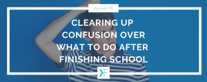 Image for podcast on clearing up confusion on what to do after finishing school - Organising Students - Is your next step going to university or completing further studies?