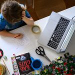 Image of student remote learning - The Age